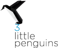 3 little penguins